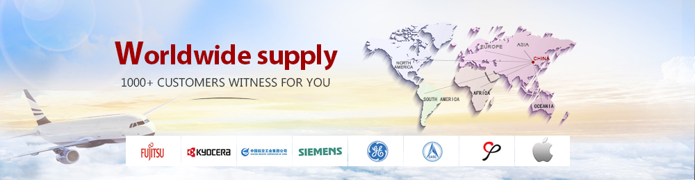 Worldwide supply, 1000+ customers witness for you